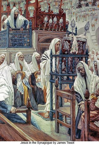 James_Tissot_Jesus_in_the_Synagogue_400