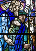 Moses Stained Glass