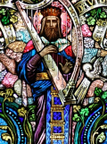 David Stained Glass