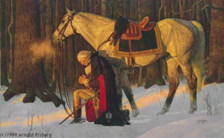 George-Washington-Praying