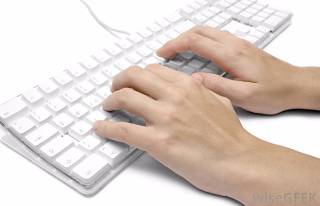 Typing-on-computer