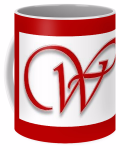 Red W Mug