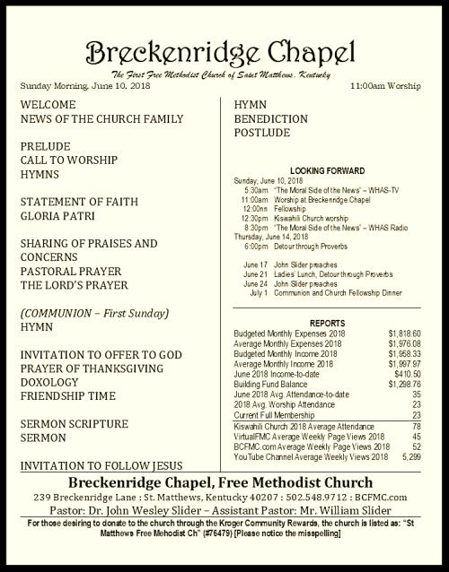 180610 Breckenridge Bulletin