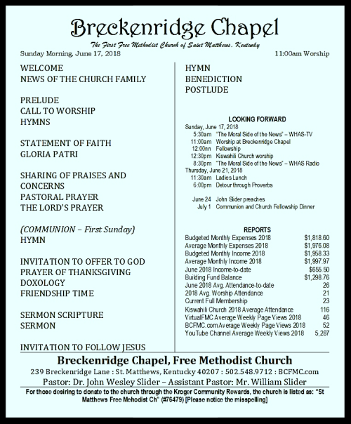 180617 Breckenridge Bulletin