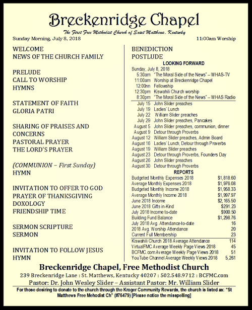180708 Breckenridge Bulletin