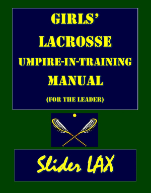 Umpire-in-Training Manual (Leader) Cover