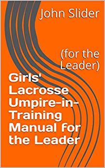 EBook Umpire in Training Leader Cover
