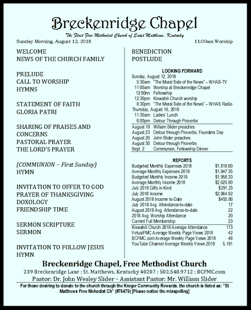 180812 Breckenridge Bulletin