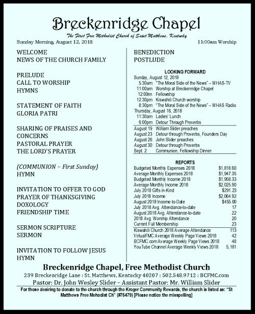 180812 Breckenridge Bulletin