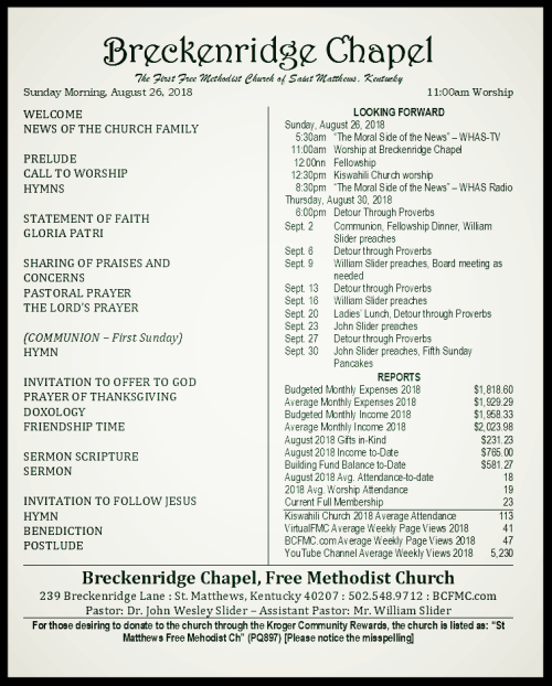 180826 Breckenridge Bulletin