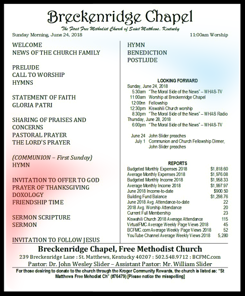 180624 Breckenridge Bulletin