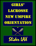 New Umpire Orientation (Cover)