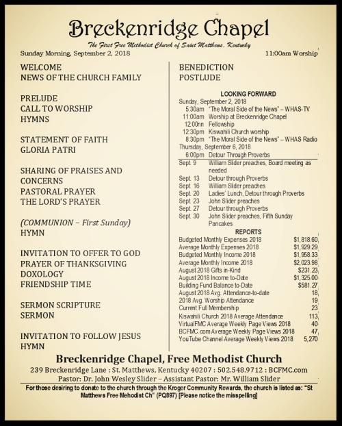 180902 Breckenridge Bulletin