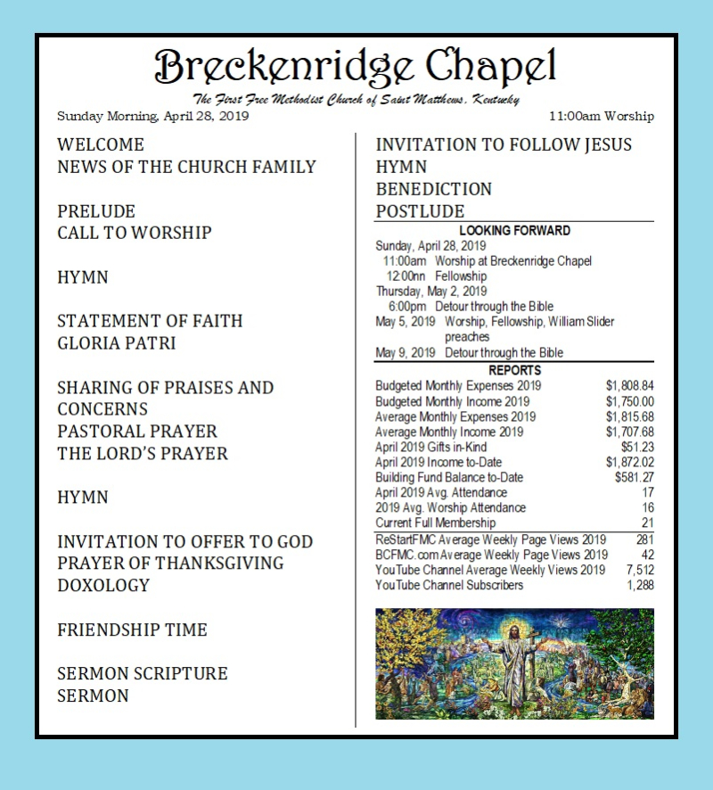 190428 Breckenridge Bulletin