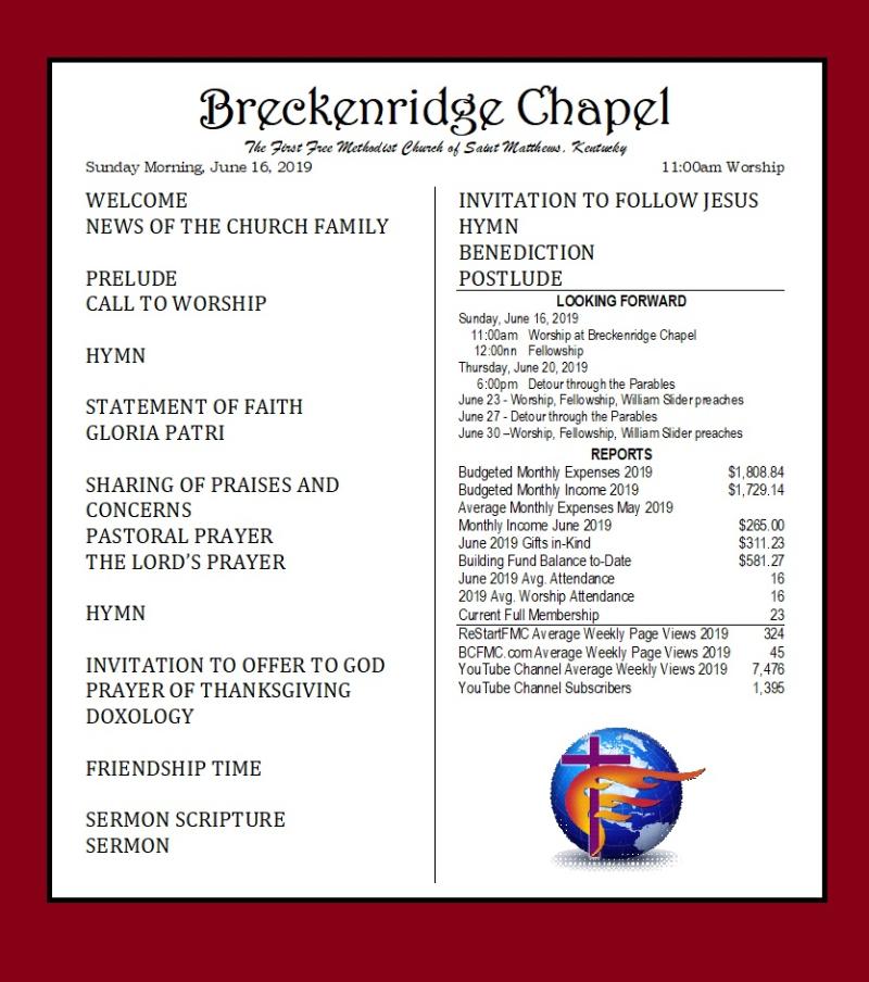 190616 Breckenridge Bulletin