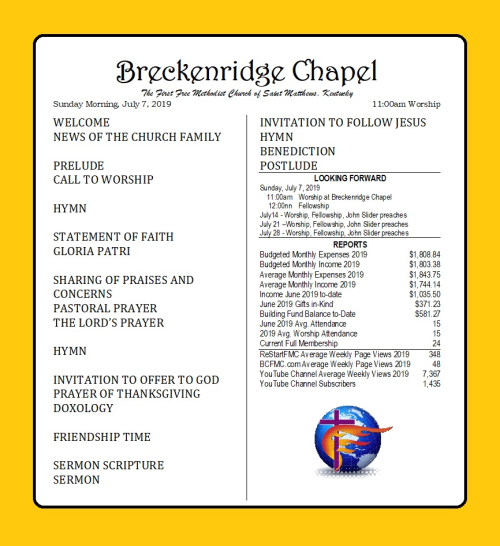 190707 Breckenridge Bulletin