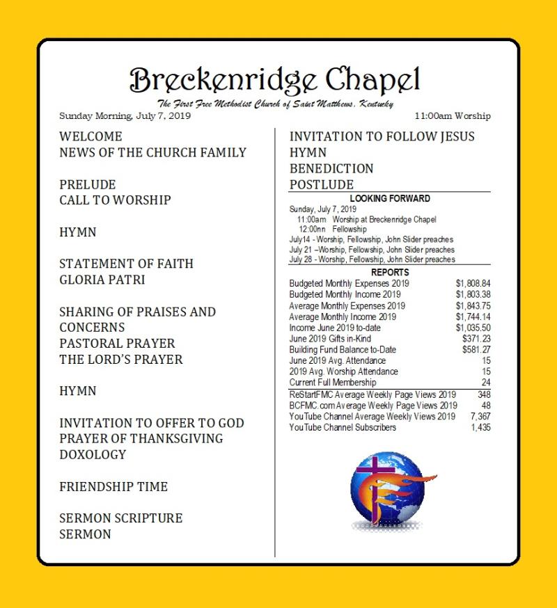 190707 Breckenridge Bulletin