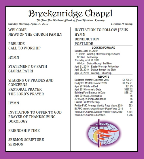 190414 Breckenridge Bulletin