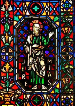 Jeremiah Stained Glass