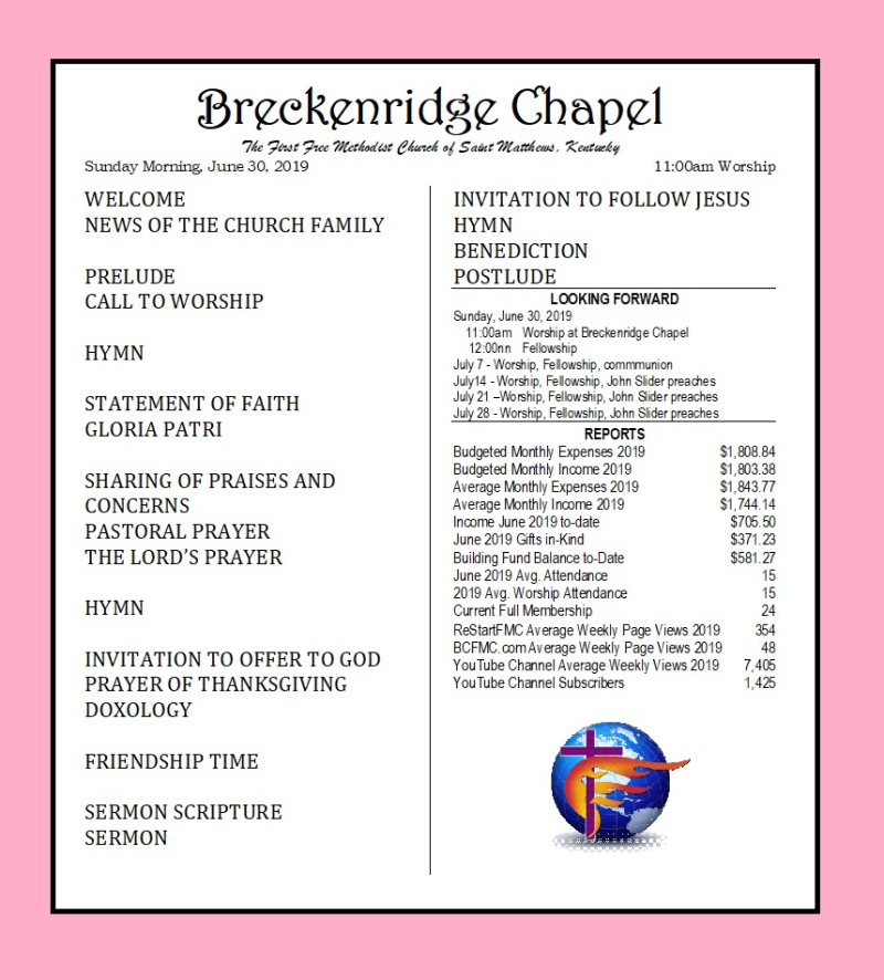 190630 Breckenridge Bulletin