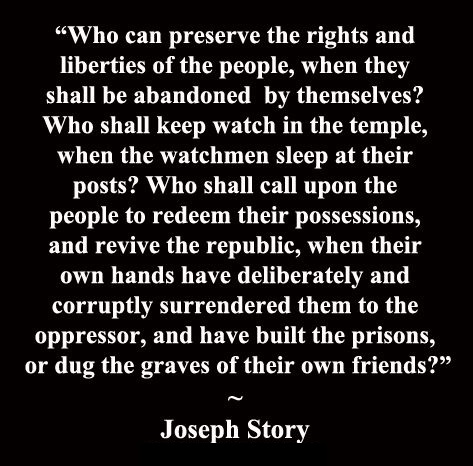 Joseph Story Preserve Rights