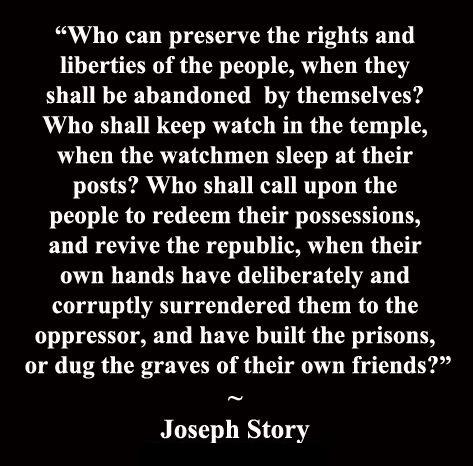 Joseph Story Preserve Rights