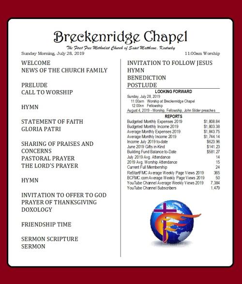 190728 Breckenridge Bulletin