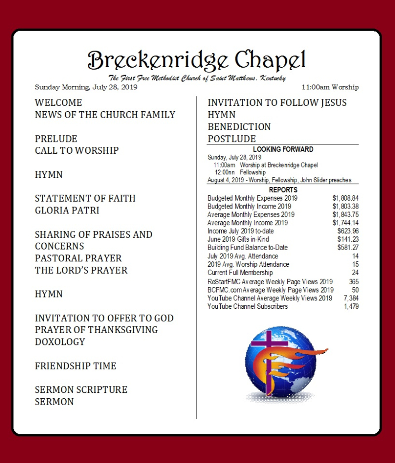 190728 Breckenridge Bulletin