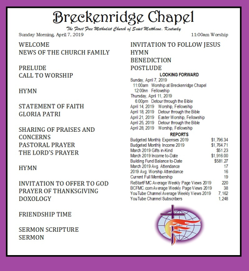 190407 Breckenridge Bulletin