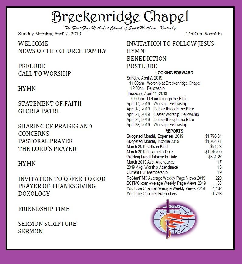 190407 Breckenridge Bulletin