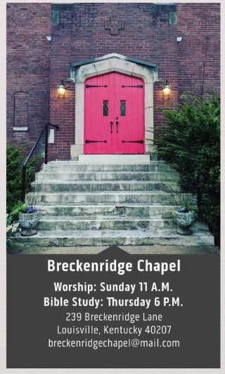 Breckenridge Chapel Card