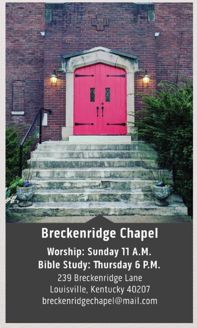 Breckenridge Chapel Card
