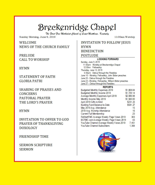 190609 Breckenridge Bulletin