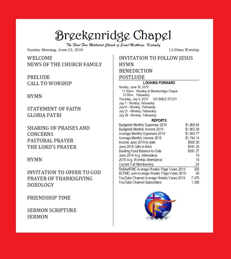 190623 Breckenridge Bulletin