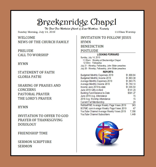 190714 Breckenridge Bulletin