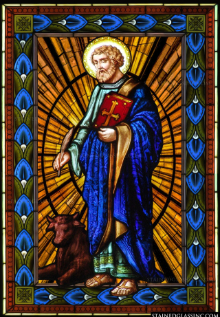 Luke Stained Glass (1)