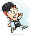Cartoon-woman-referee-running-a-cartoon-illustration-of-a-woman-referee-running-vector-clipart_csp57631001