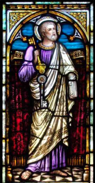 Peter Stained Glass (2)