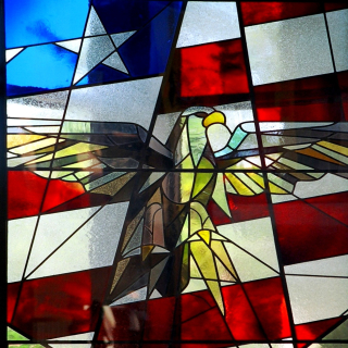 Independence Stained Glass