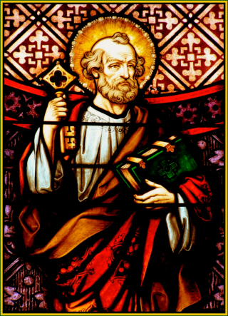 Peter Stained Glass
