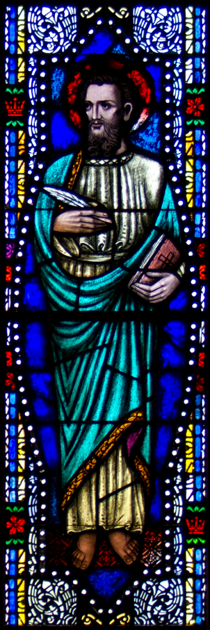 Luke Stained Glass (2)